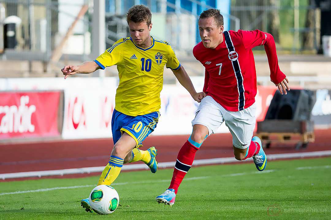 Sverige Måns Söderqvist och Norge Fredrik Ulvestad