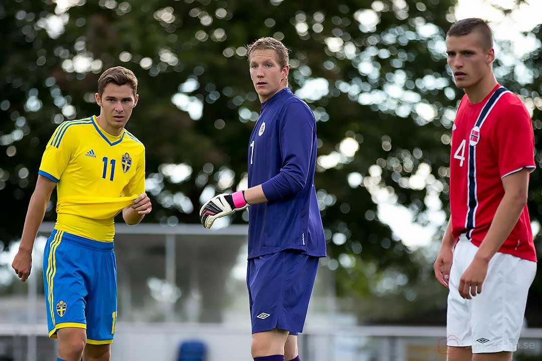 Sverige Branimir Hrgota, Norge Erik H Johansen och Gustav Valsvik