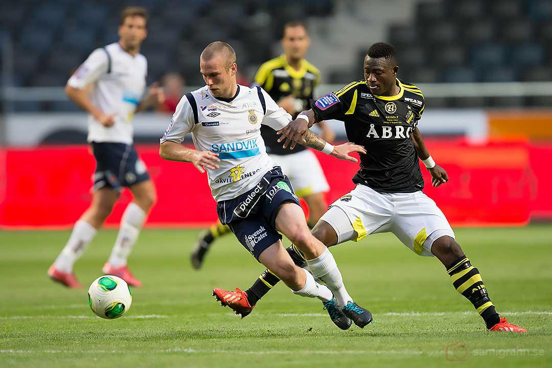 Gefle Alexander Faltsetas och AIK Ibrahim Moro