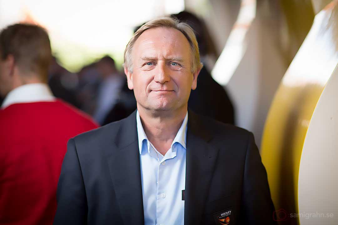 HockeyAllsvenskans VD Stefan Bengtsson