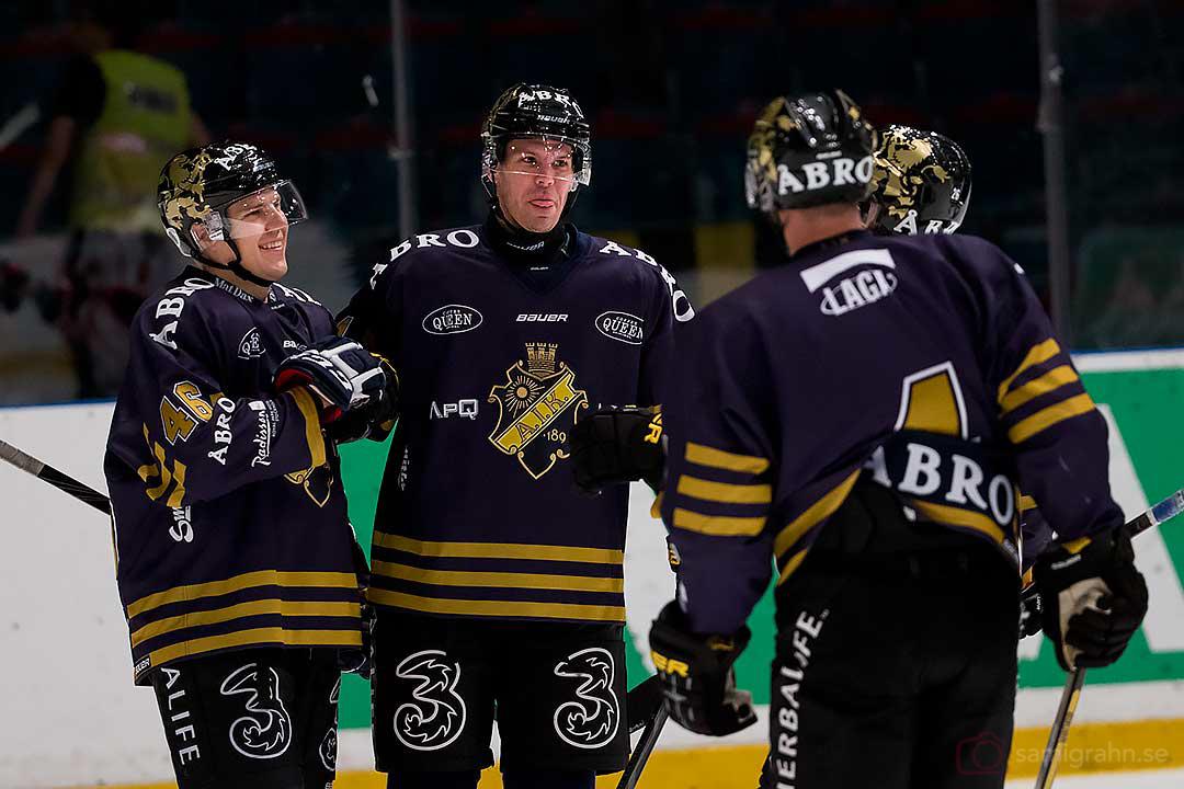 AIK Teemu Ramstedt glad efter mål