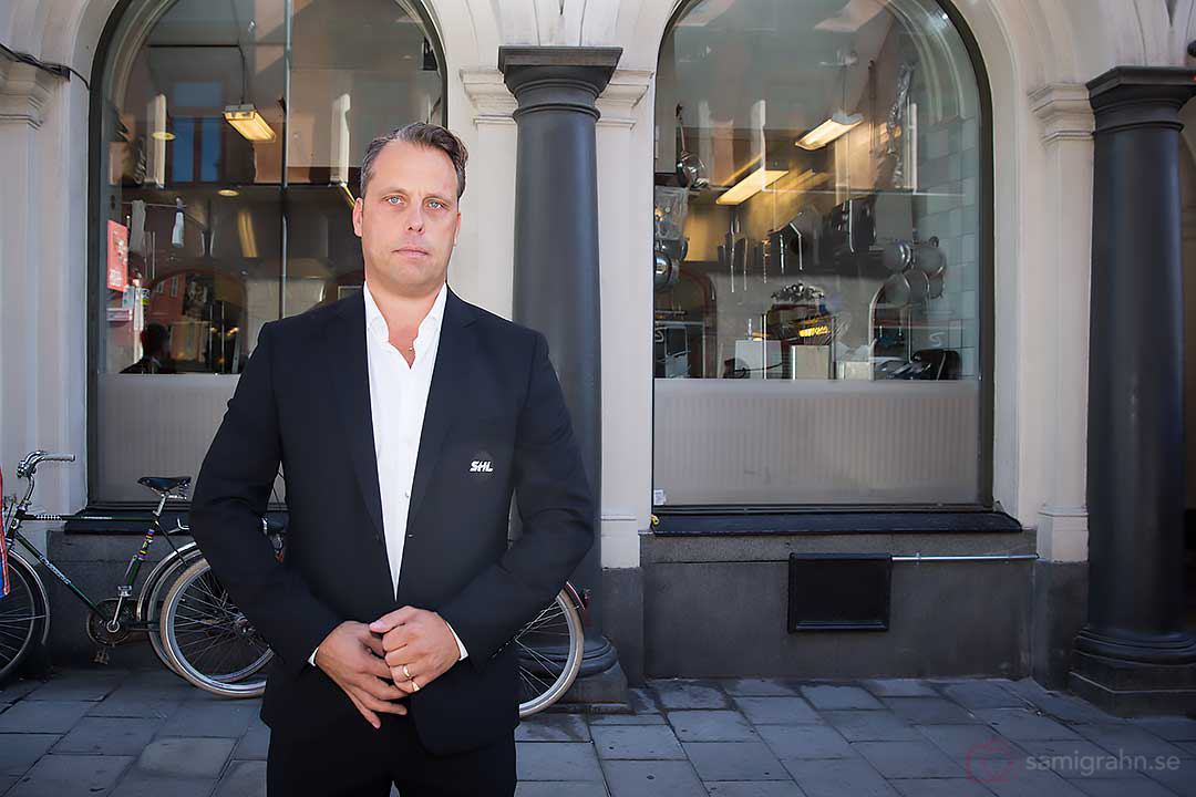 Jörgen Lindgren VD SHL