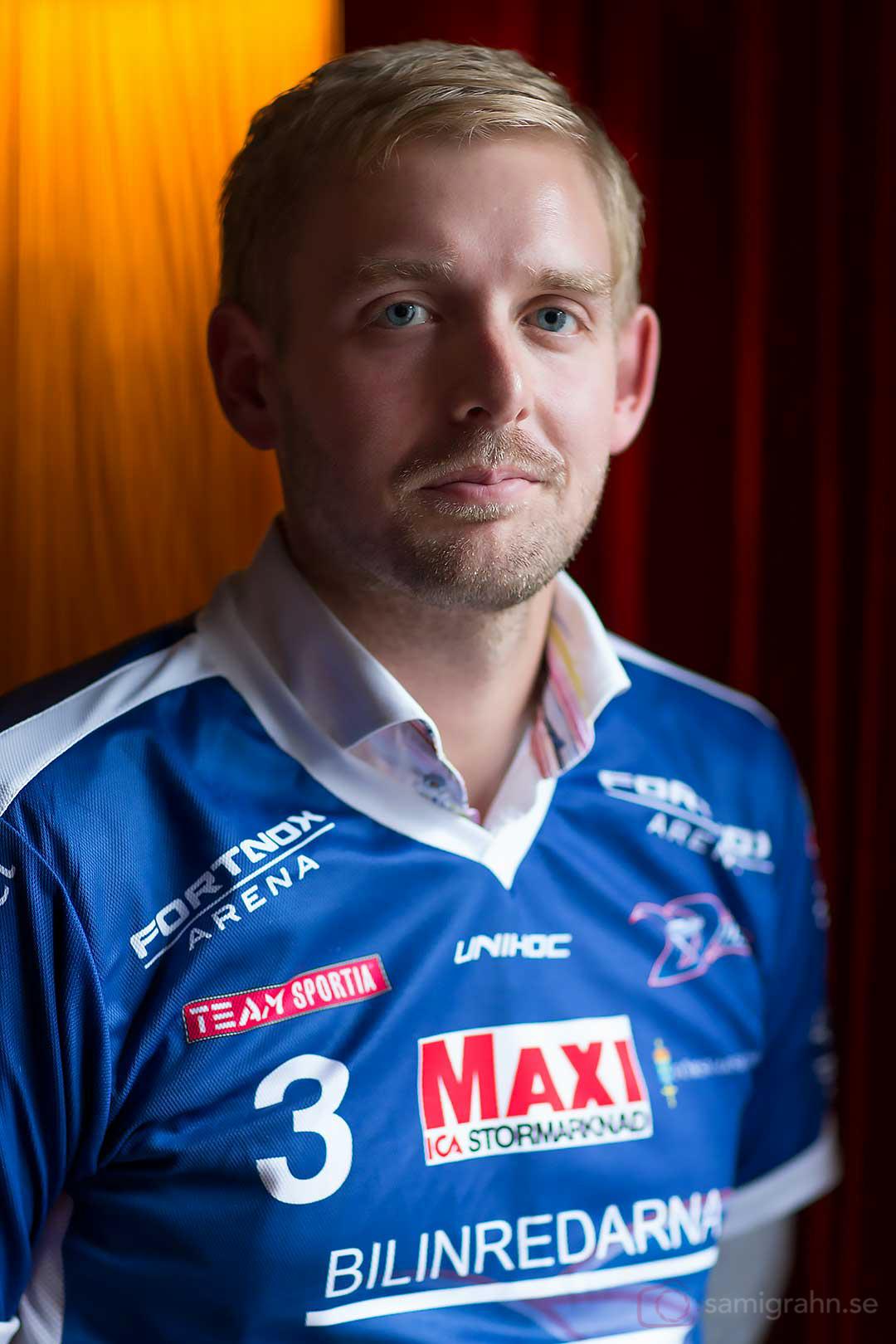 Växjö tränare Dennis Mårtensson