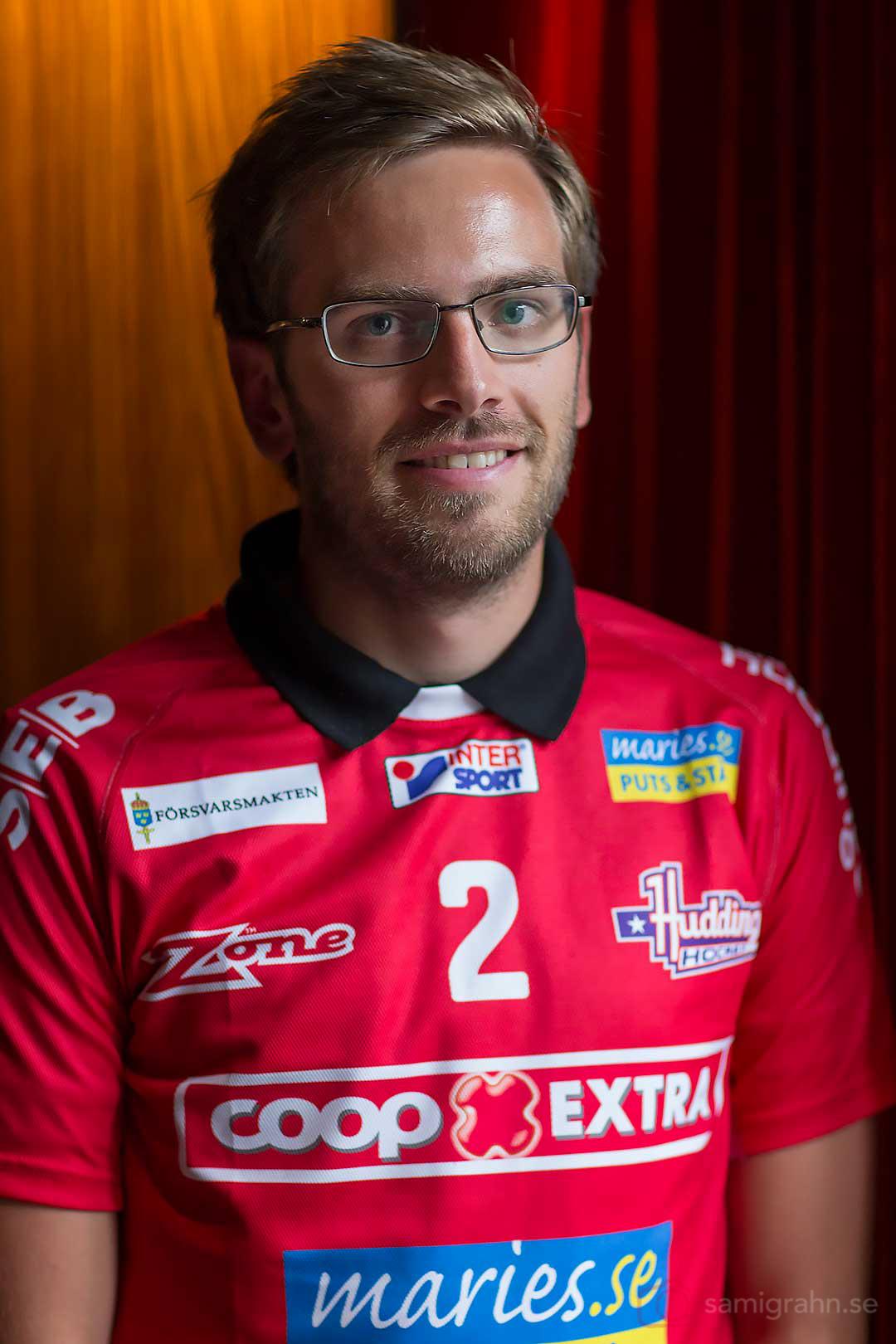 Huddinge tränare Per Tjusberg