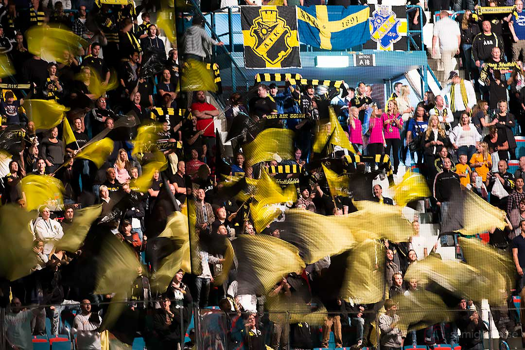 AIK-supportrar