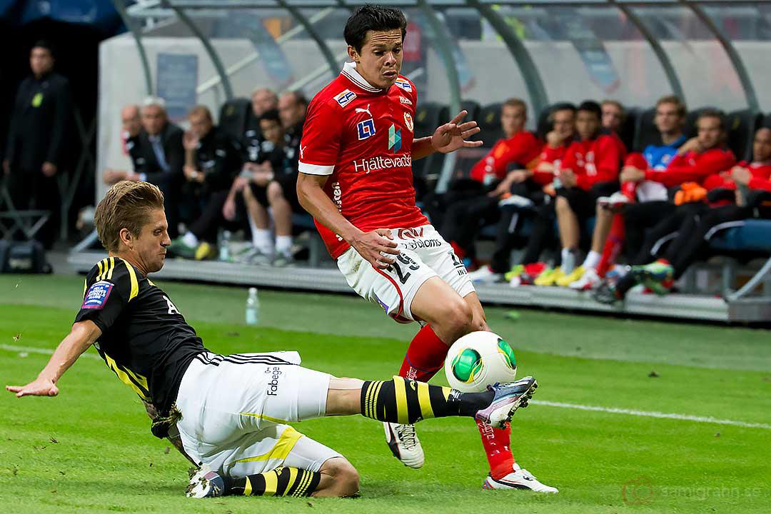 AIK Martin Lorentzson bryter Kalmar Romario Pereira Sipiao