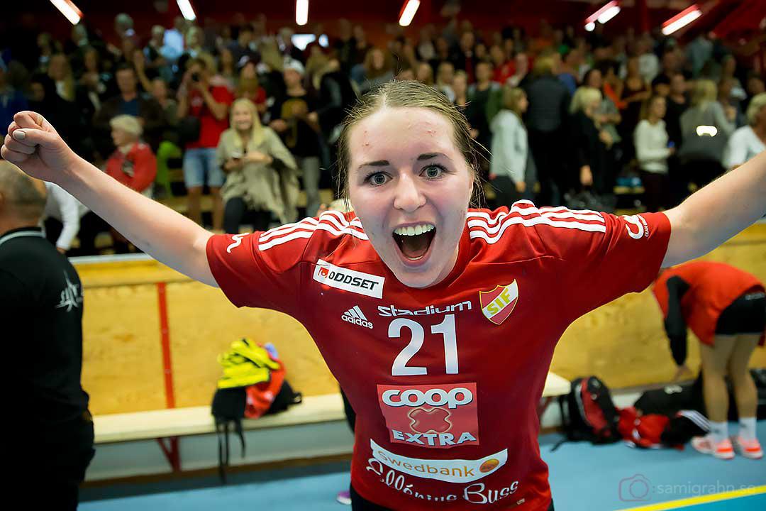 Skånela Viktoria Högström Unell nöjd efter premiärsegern