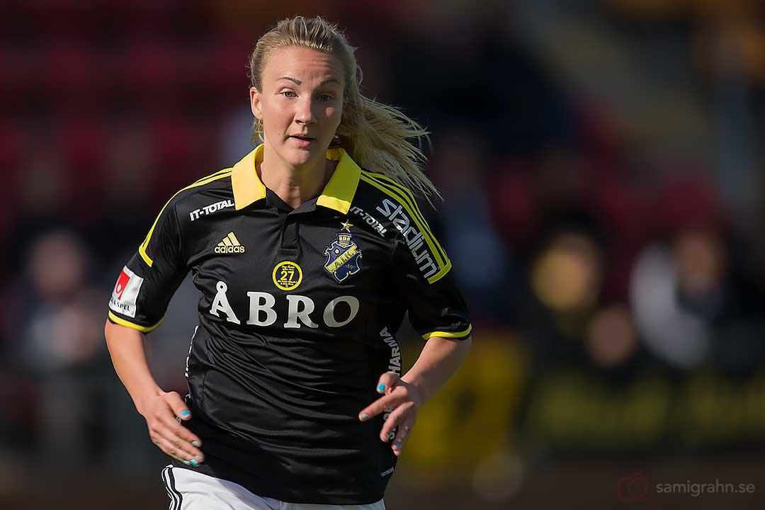 Säsongspremiär för AIK Emma Lundh