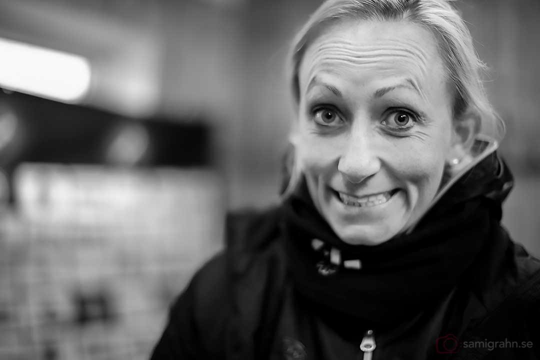Kristianstad tränare Elisabet Gunnarsdottir var glad efter segern