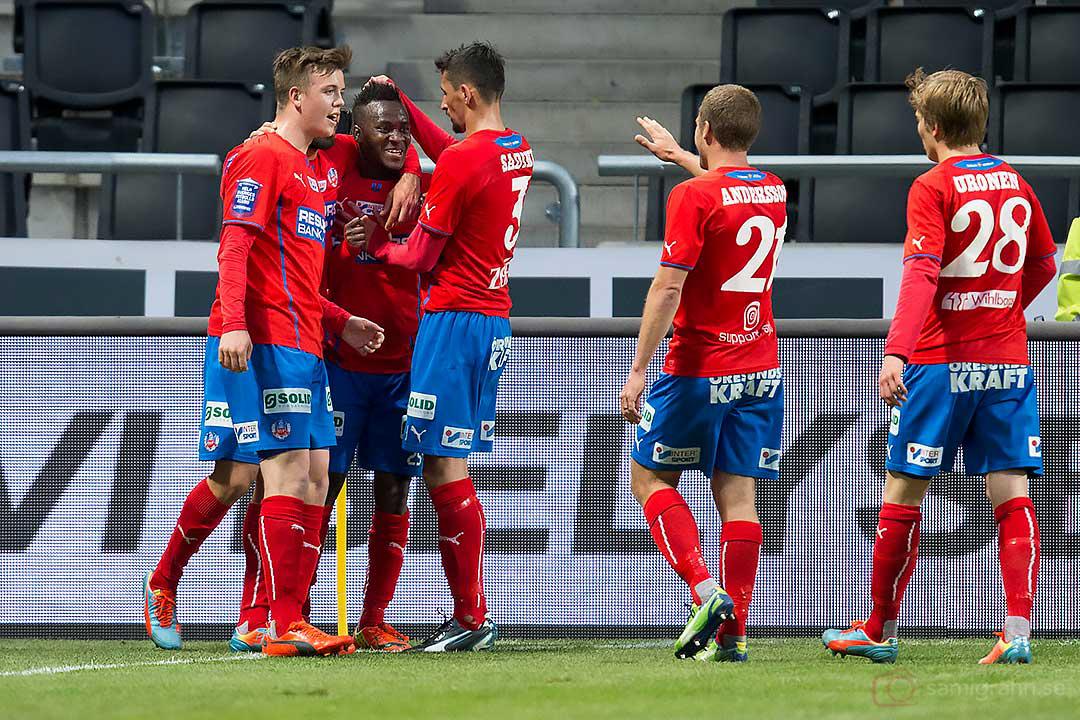 Kvitterat till 1-1 av Helsingborg David Accam