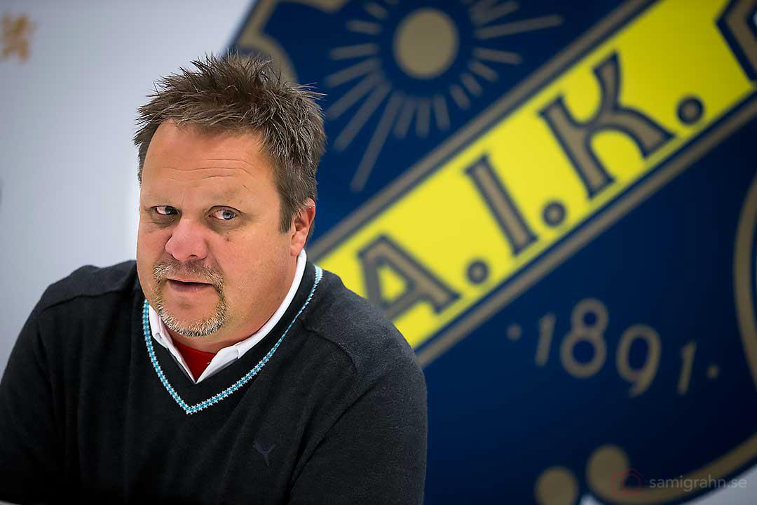 Helsingborg tränare Roar Hansen