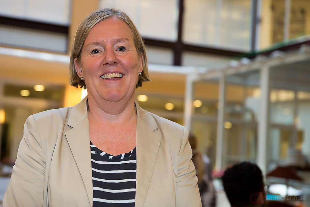Generalsekreterare för svensk basket är Lena Wallin-Kantzy