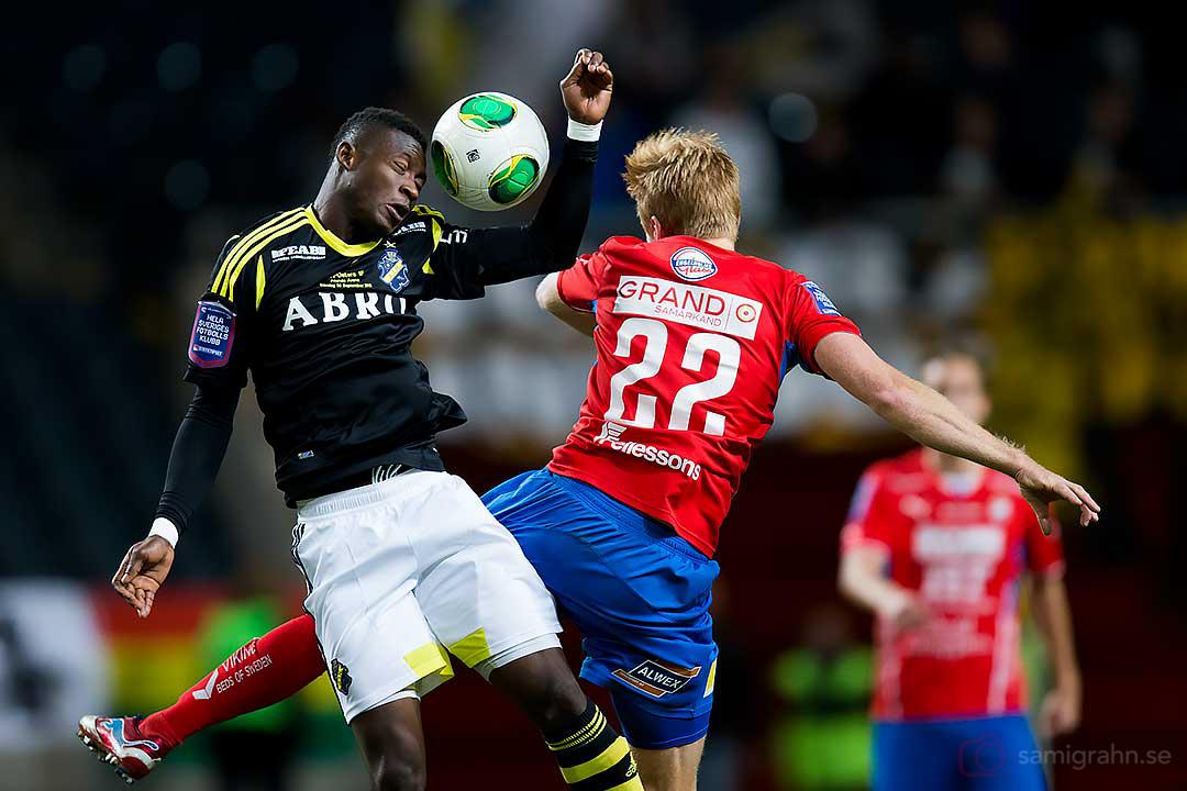 AIK Ibrahim Moro och Öster Josef Elvby