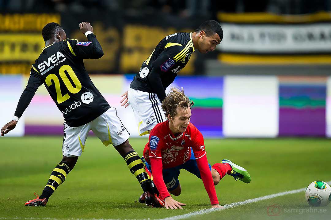 AIK Ibrahim Moro, Nabil Bahoui och Öster Alexander Henningsson