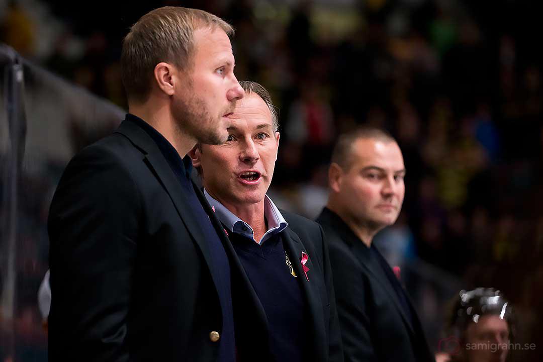 AIK tränartrio Mats Lindgren, Rikard Franzén och Mats Bäcklin