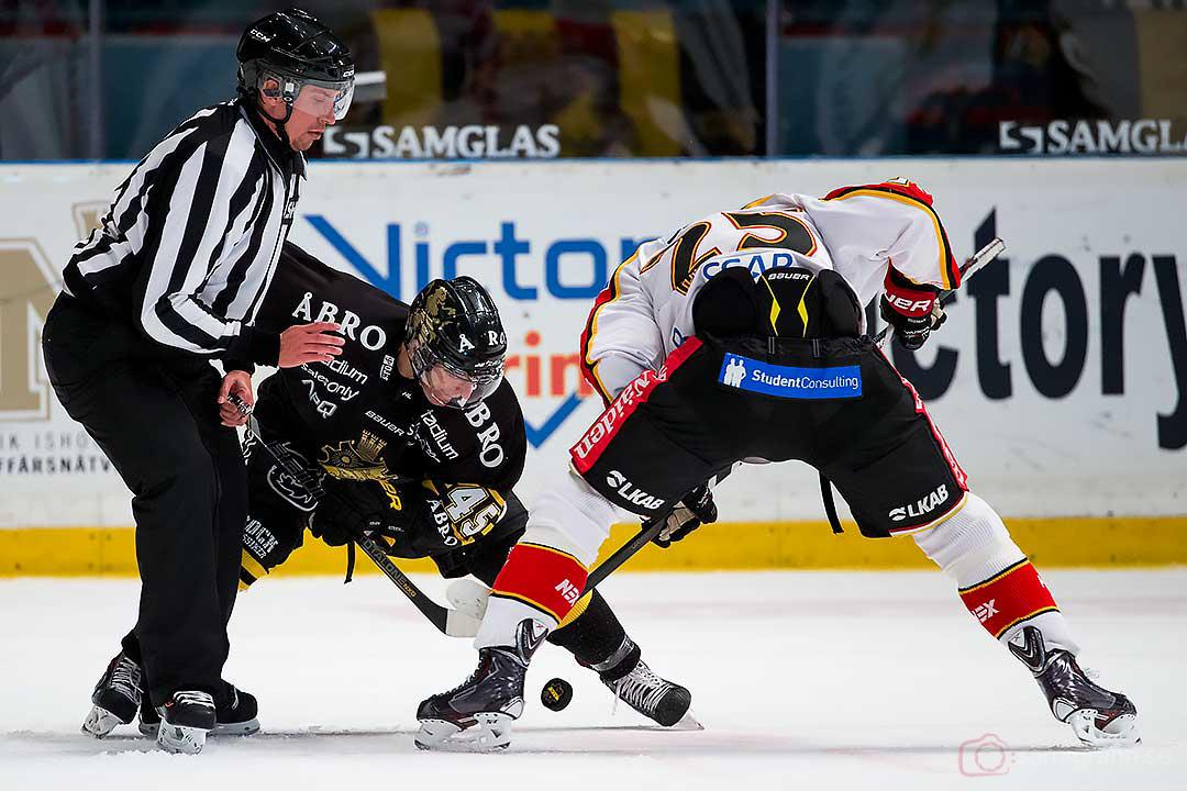 Tekning mellan AIK Oscar Steen och Luleå Anton Hedman