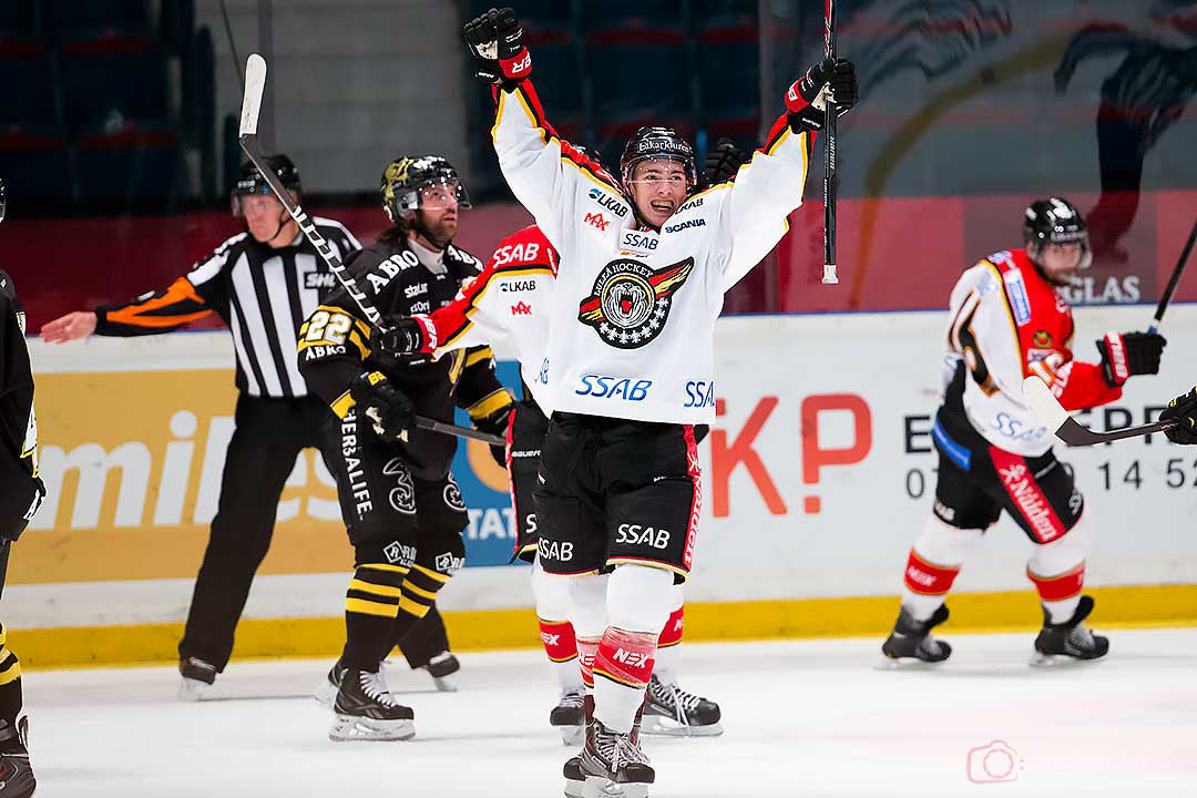 Luleå Johan Forsberg utökar till 1-3