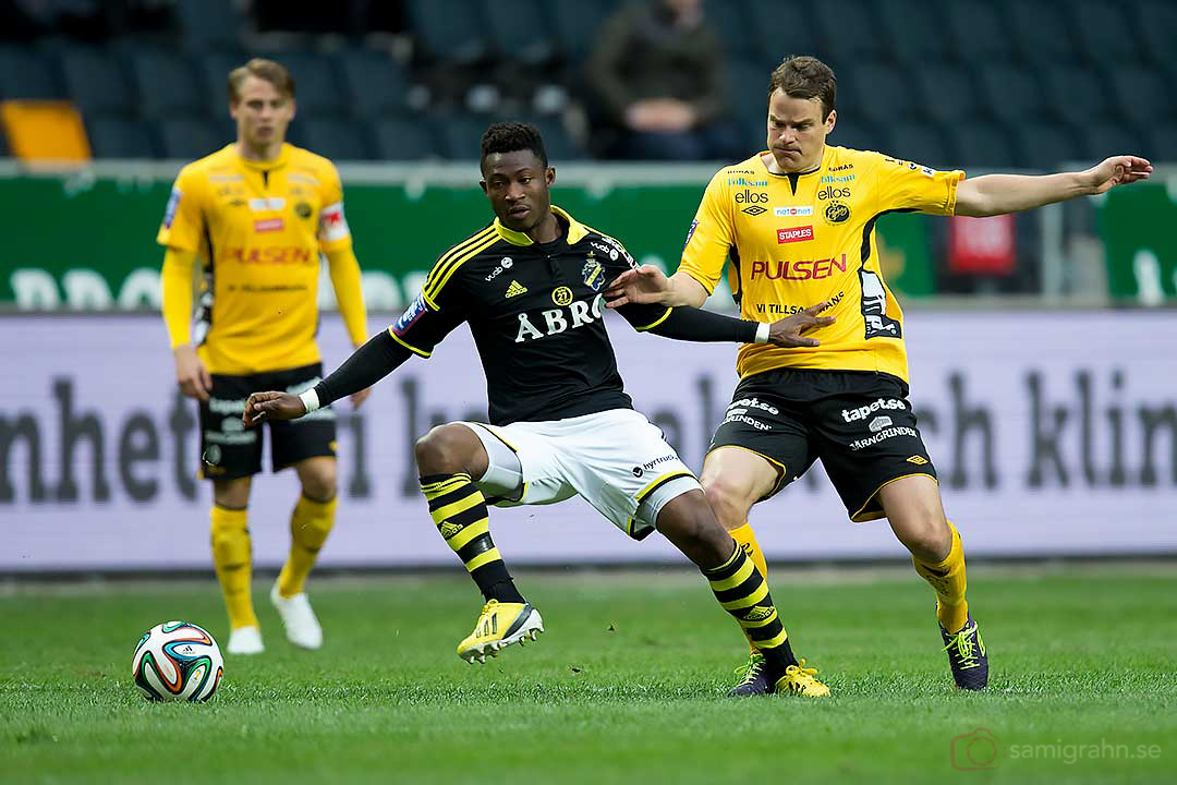 AIK Ibrahim Moro och Elfsborg Henning Hauger