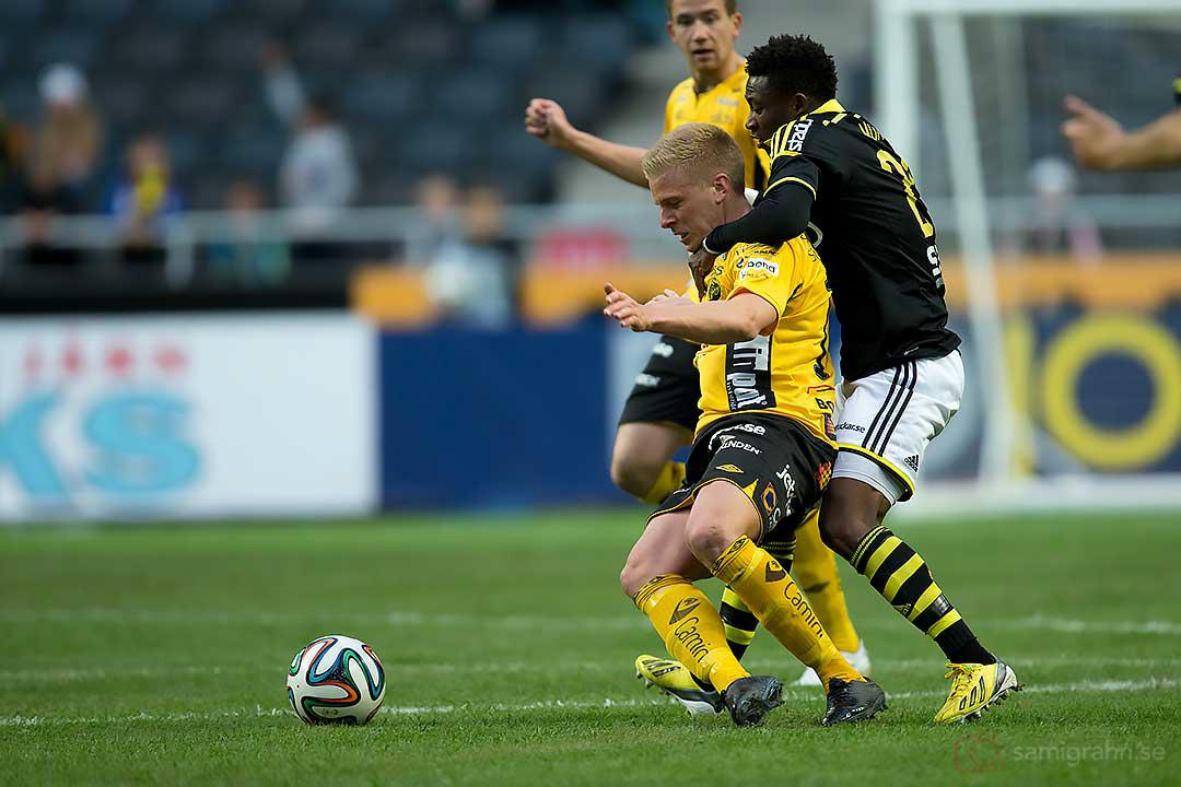Elfsborg Per Frick och AIK Ibrahim Moro