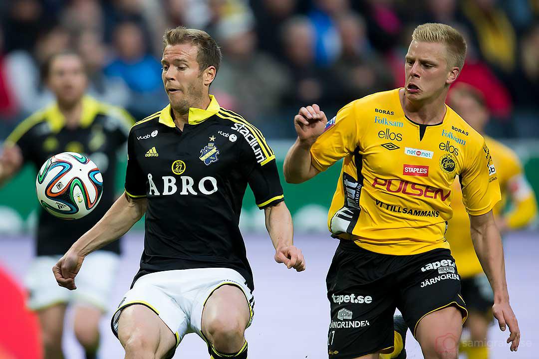 AIK Per Karlsson och Elfsborg Per Frick