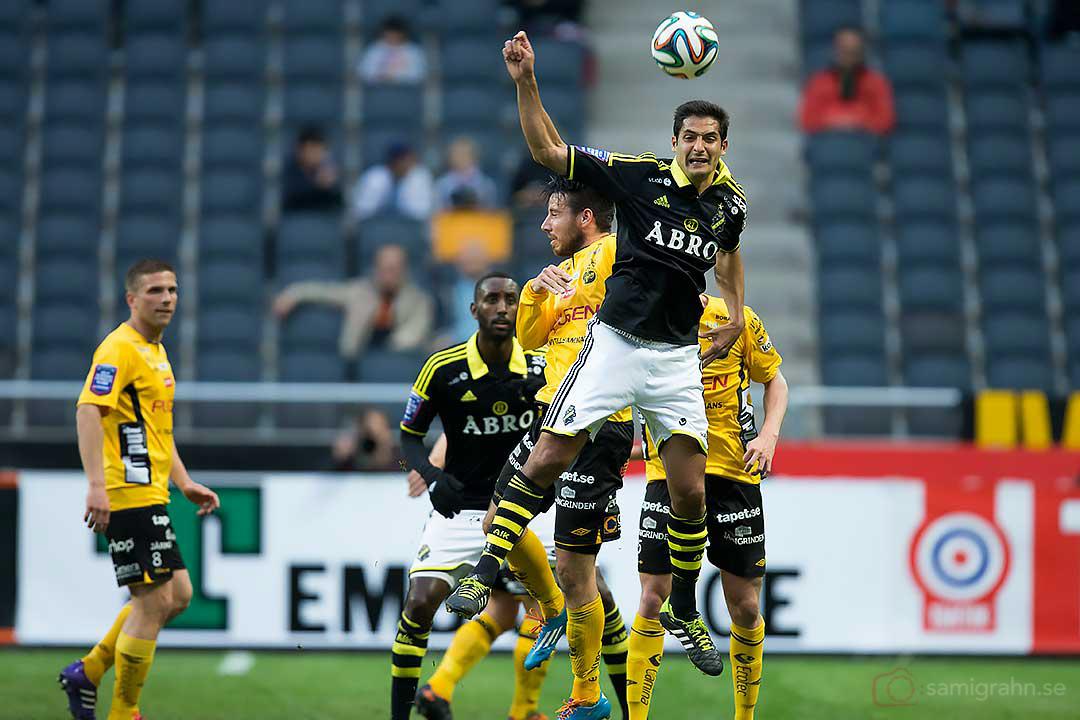 AIK Celso Borges hoppar högst