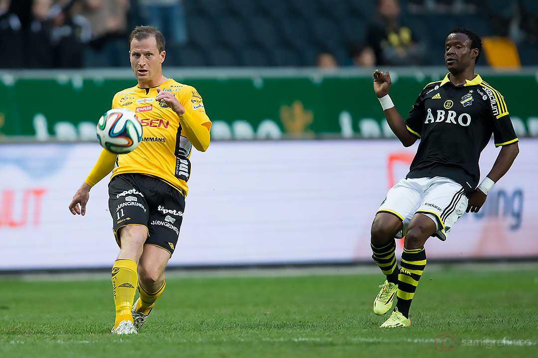 Elfsborg Daniel Mobaeck och AIK Kennedy Igboananike