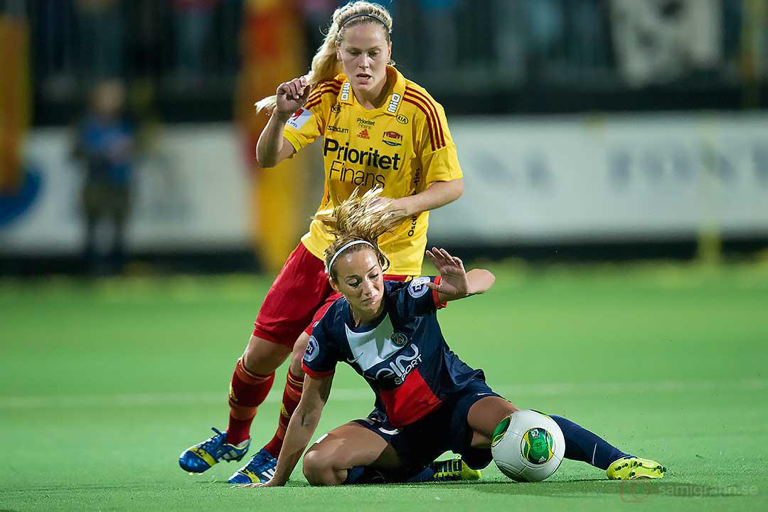 Tyresö Lisa Dahlqvist och PSG Kosovare Asllani