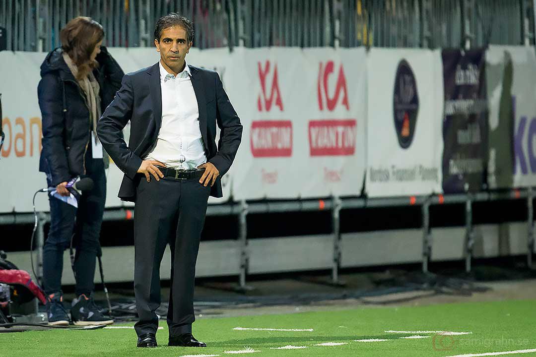 PSG tränare Farid Benstiti