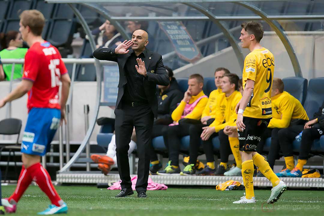Elfsborg tränare Jan Mian