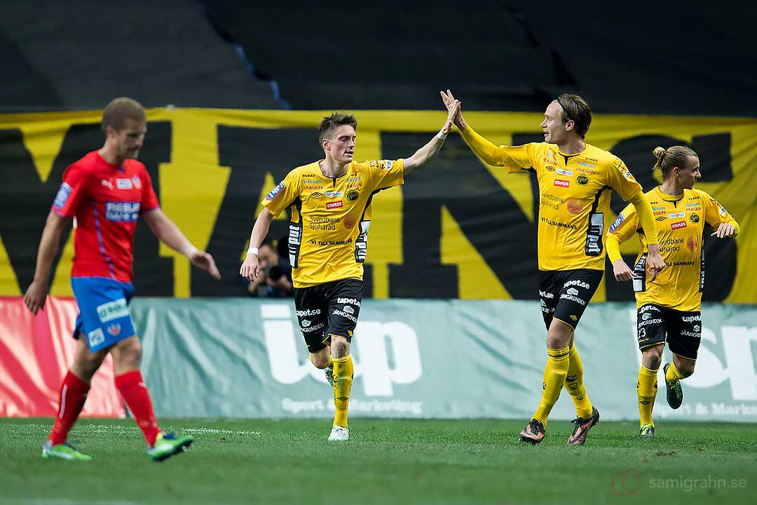 Matchens enda mål gjordes av Elfsborg Lasse Nilsson