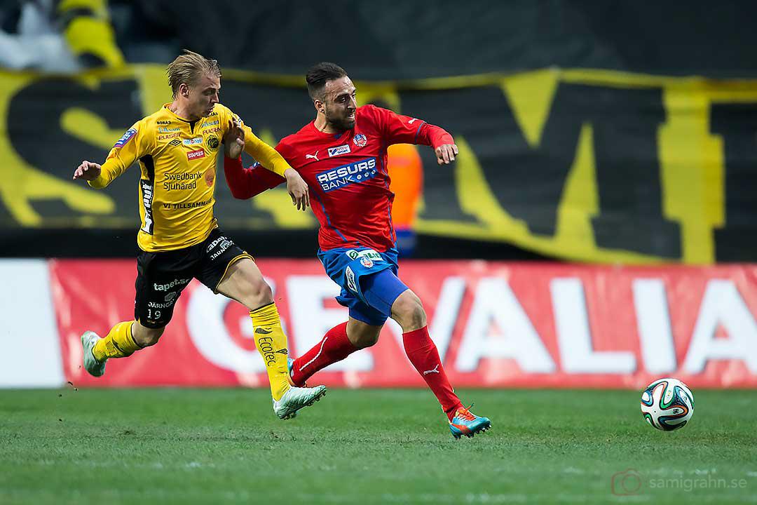 Elfsborg Simon Hedlund jagar Helsingborg Abdul Khalili