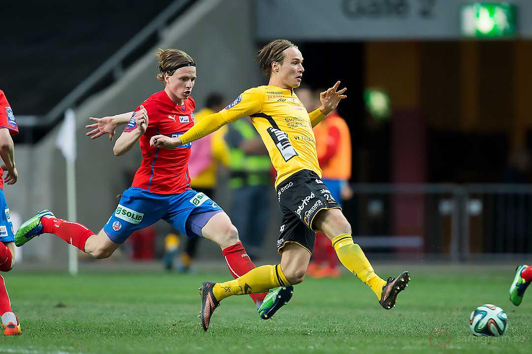 Helsingborg Carl Johansson och Elfsborg Viktor Prodell