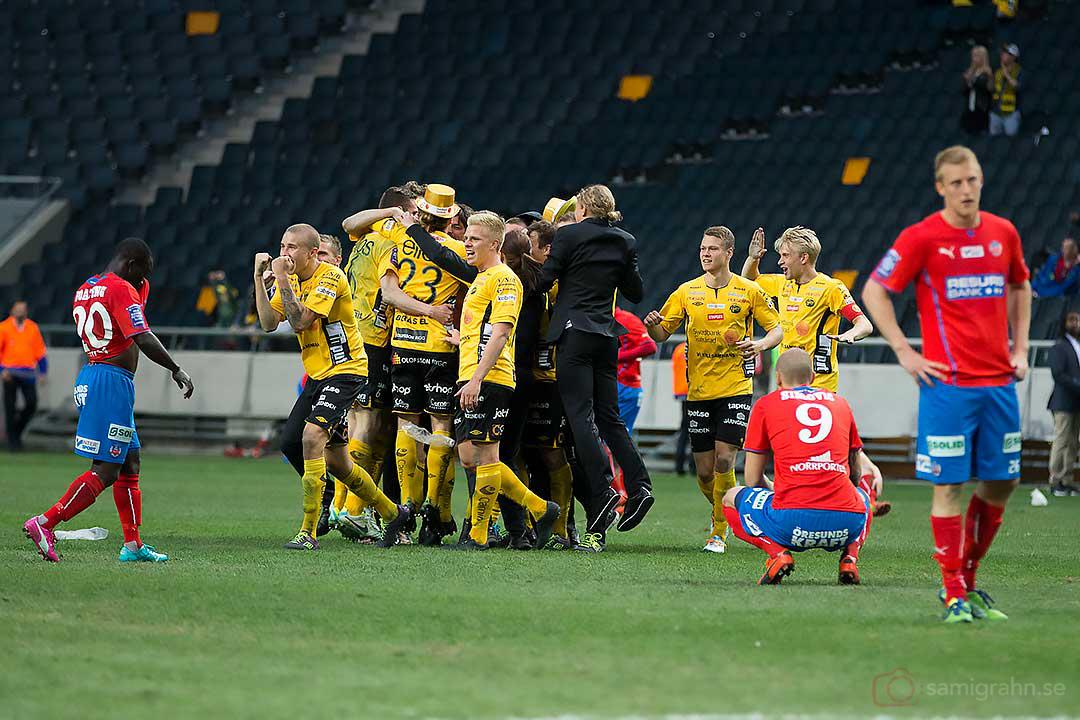 Elfsborg firar i guldhattar och Helsingborg deppar