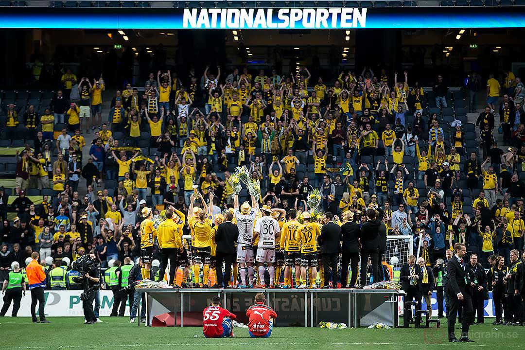 Helsingborg deppar när Elfsborg firar Svenska Cup-vinsten