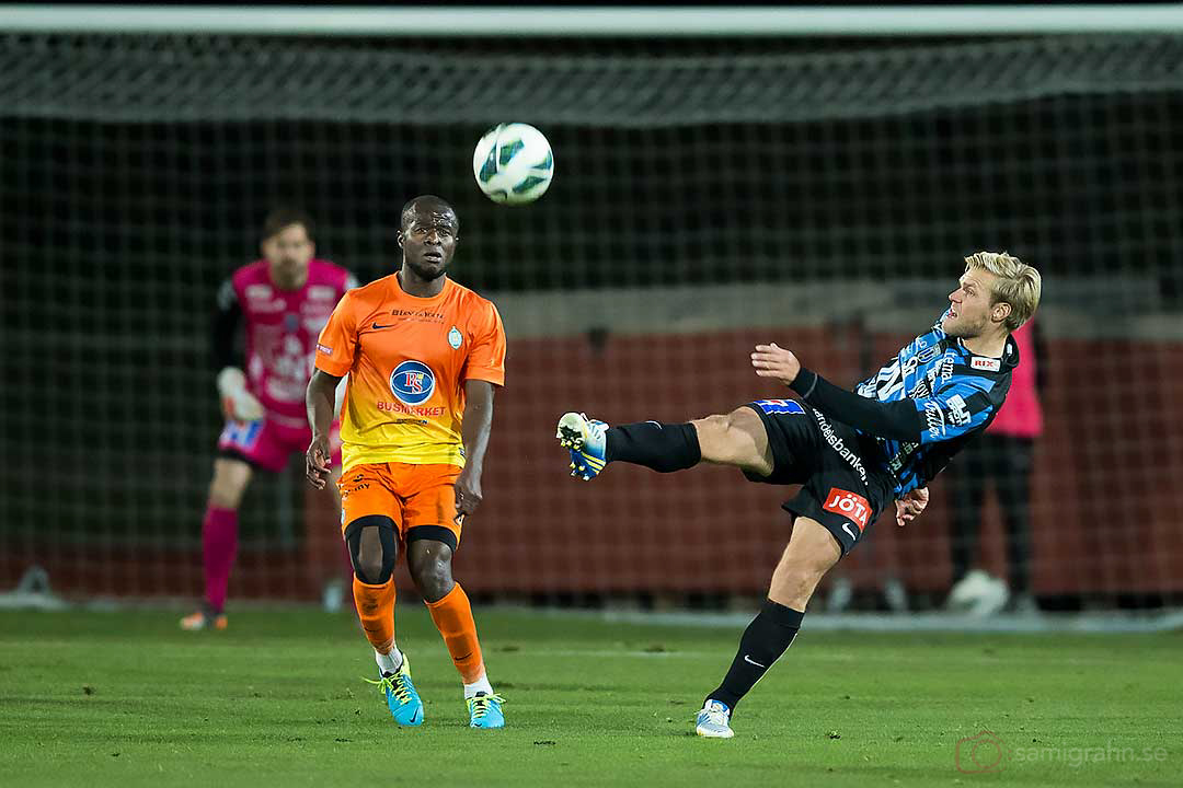 AFC Chima Daniel Uchechi och Sirius Johan Arneng