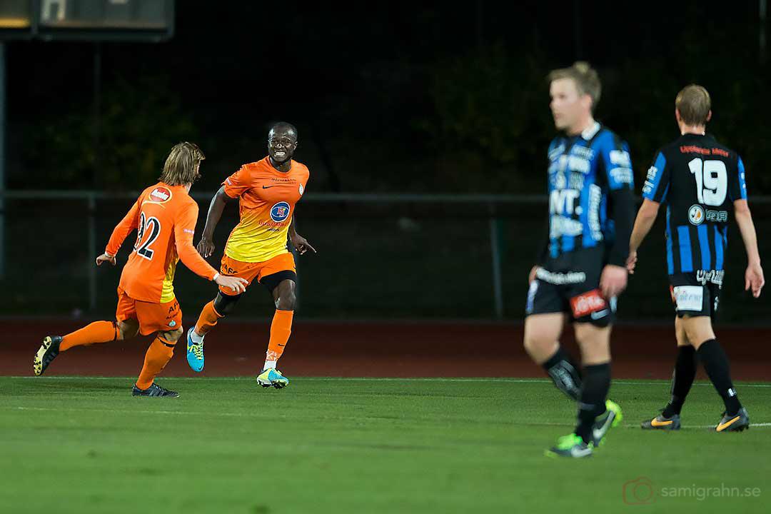 1-0 av AFC Chima Daniel Uchechi, gratuleras av Joakim Alriksson