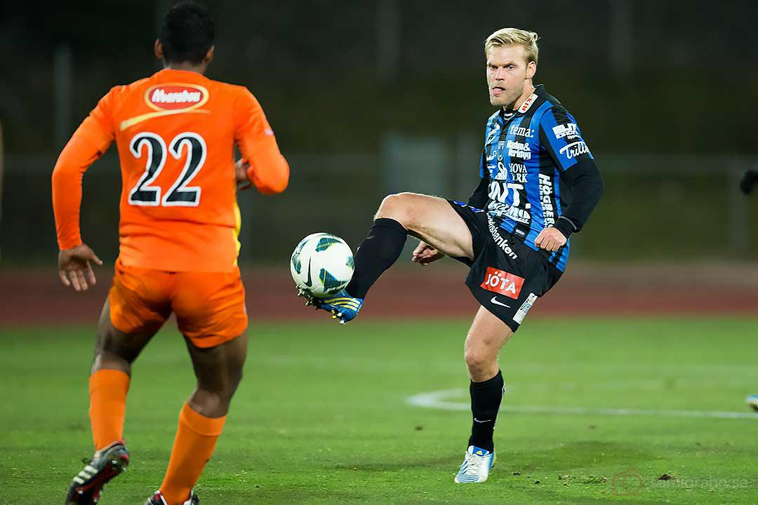 AFC Eberson Silva de Pontes och Sirius Johan Arneng