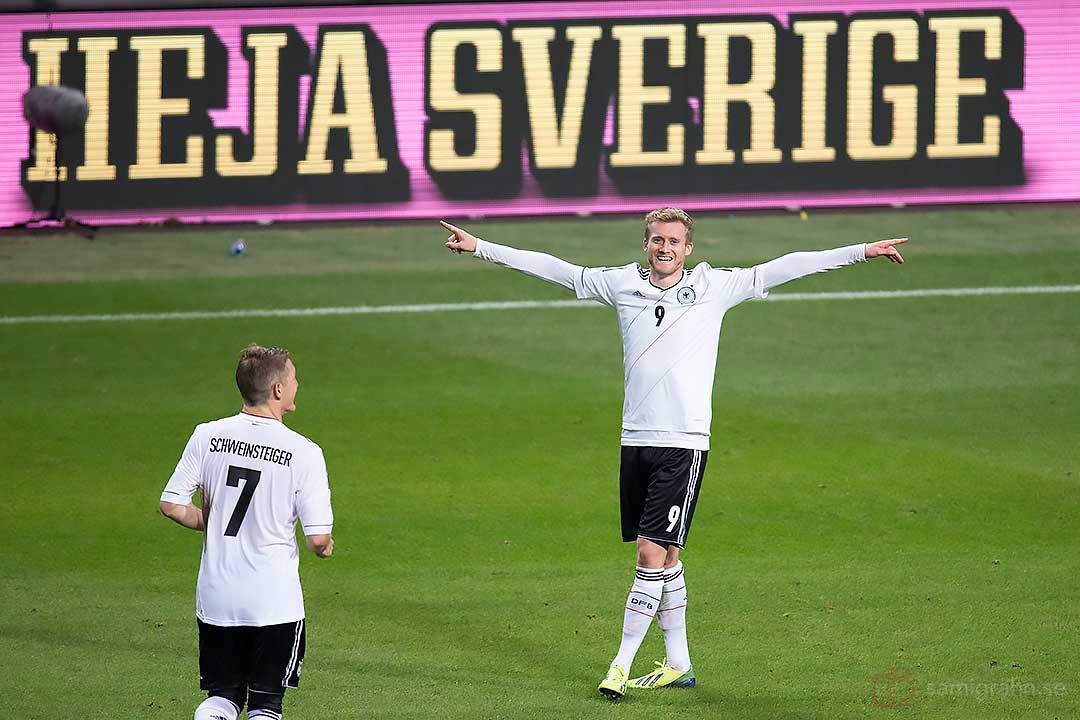 Matchens åttonde och sista mål av Tyskland André Schürrle