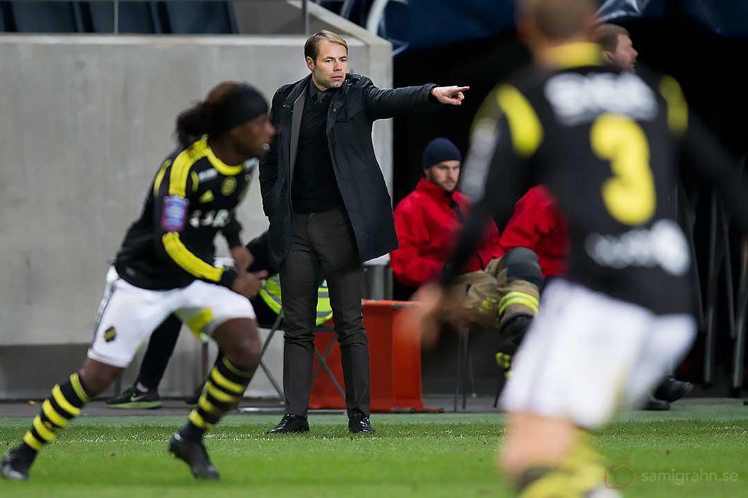 AIK chefstränare Andreas Alm