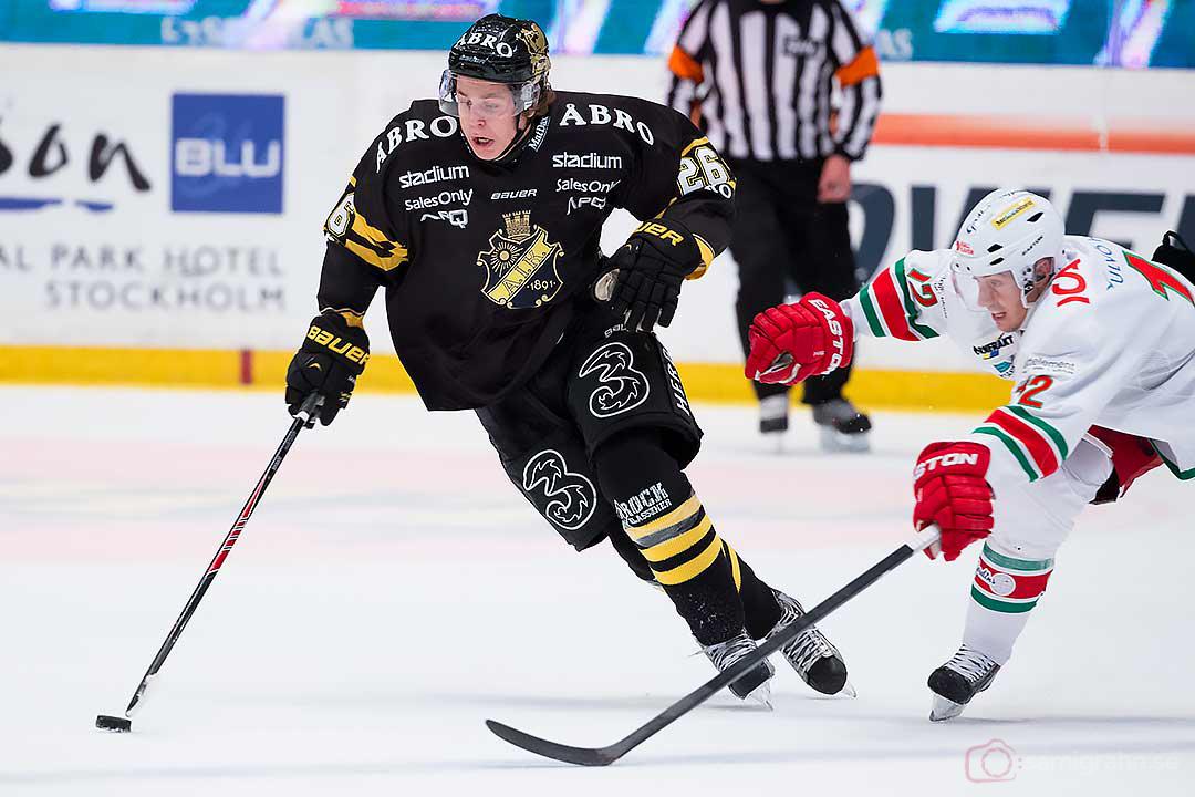 AIK Mattias Janmark Nylén drar ifrån Modo Dave Spina