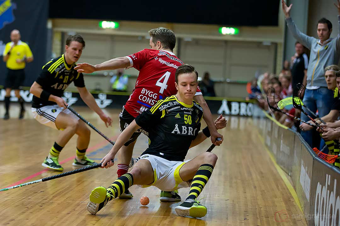 AIK Erik Andersson och Storvreta Jakob Drews