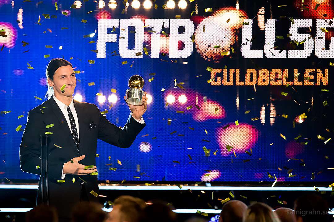 Zlatan Ibrahimovic tilldelas rättmätigt guldbollen i år igen