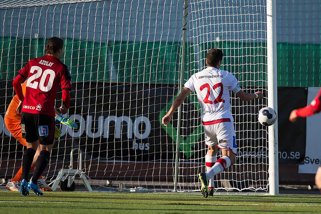 Assyriska Nemrut Awrohum missade i matchens sista målchans