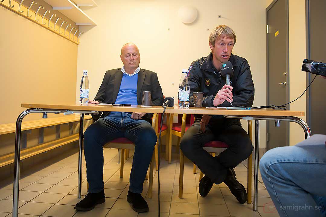 Assyriska tränare Sören Åkeby deppigare än Östersund tränare Graham Potter