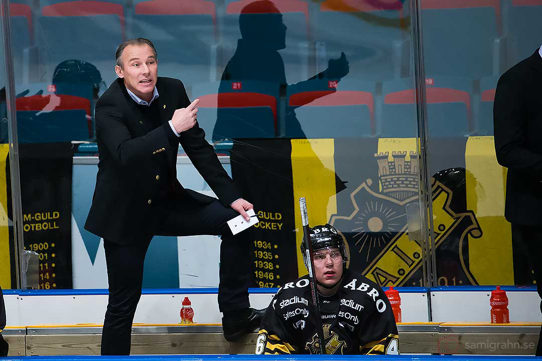 AIK tränare Rikard Franzén