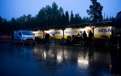 Regnet i Parken