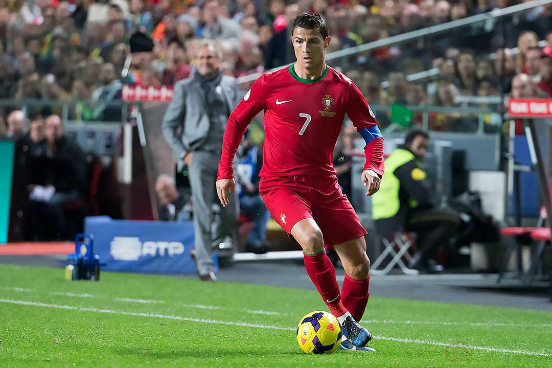 Sveriges förbundskapten Erik Hamrén imponeras av Portugal Cristiano Ronaldo