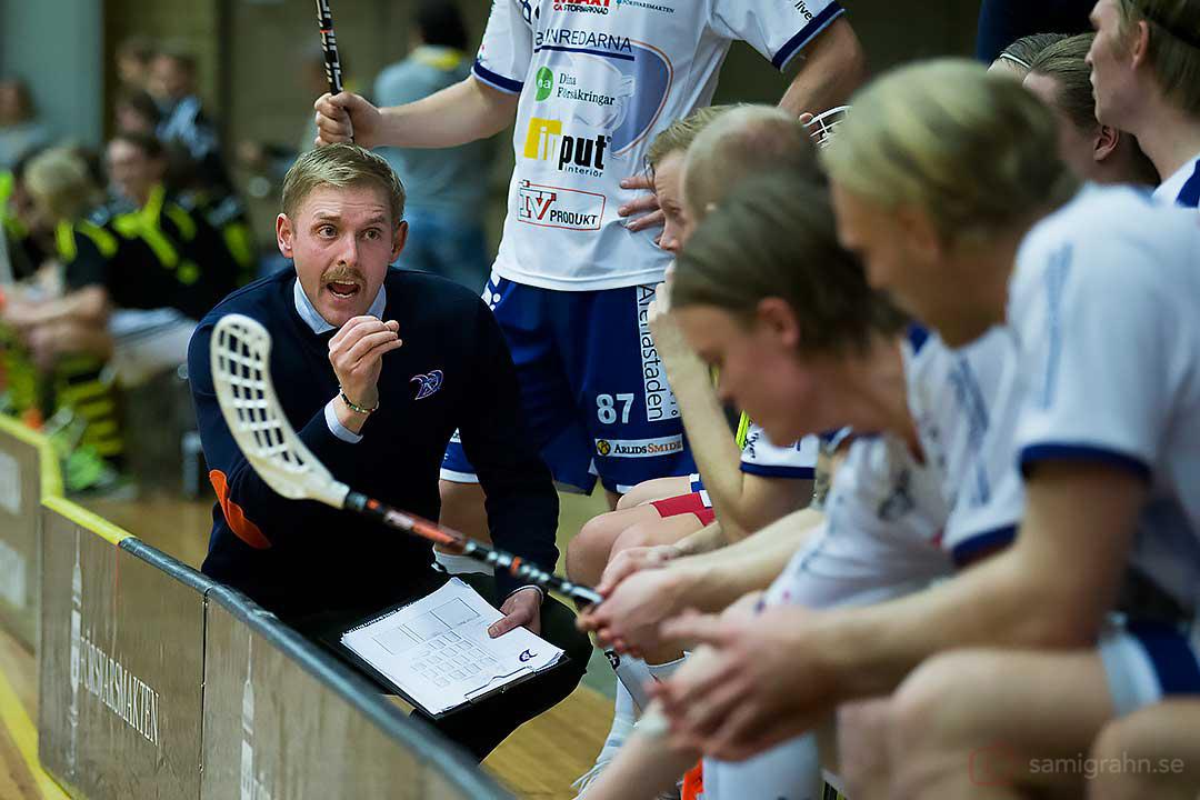 Växjö tränare Dennis Mårtensson slipar på detaljerna