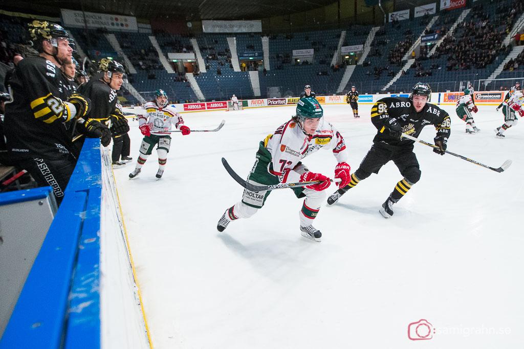 Tingsryd Hannes Johansson tätt följd av AIK Robin Kovács