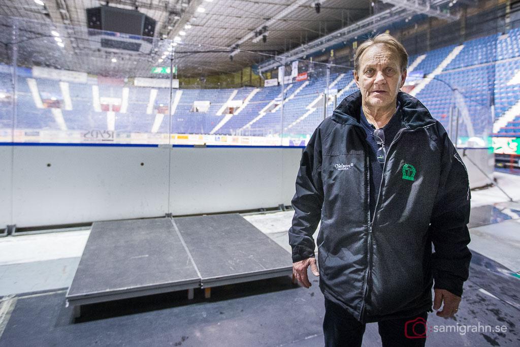 Martin Karlsson gjorde kanske sin sista match som tränare för Tingsryd?